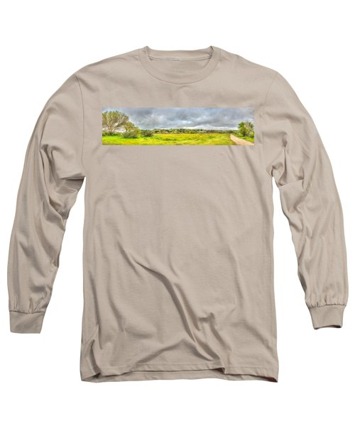 Panorama View Spring Time Long Sleeve T-Shirt