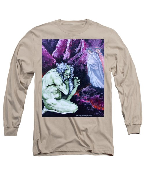 Pape Satan Aleppe Long Sleeve T-Shirt by Victor Minca