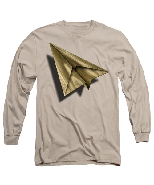 Paper Airplanes Of Wood 18 Long Sleeve T-Shirt