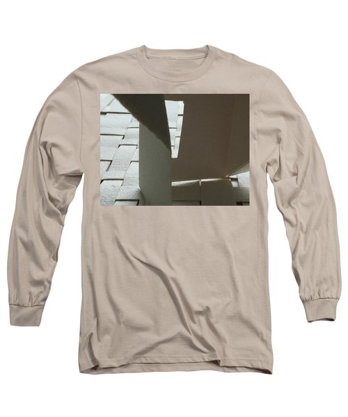 Paper Structure-1 Long Sleeve T-Shirt