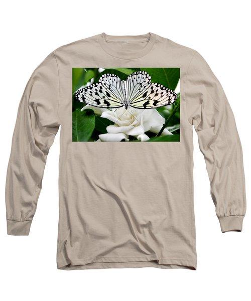 Paperkite On Gardenia Long Sleeve T-Shirt