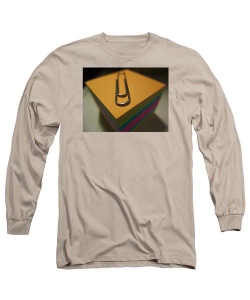 Paperwork Long Sleeve T-Shirt by John Rossman