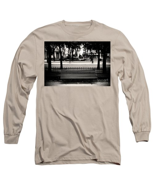 Paris Bench Long Sleeve T-Shirt
