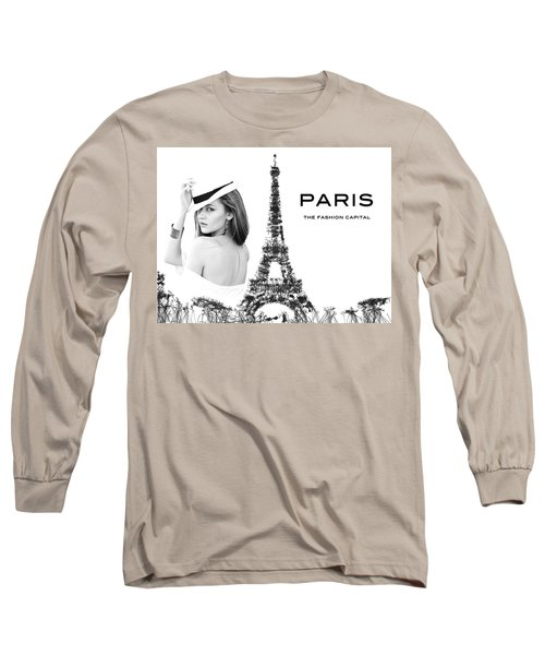 Paris The Fashion Capital Long Sleeve T-Shirt