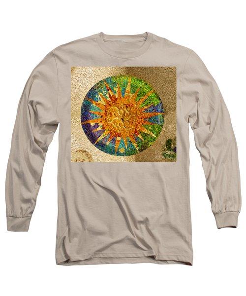 park Guell, Barcelona, Spain Long Sleeve T-Shirt