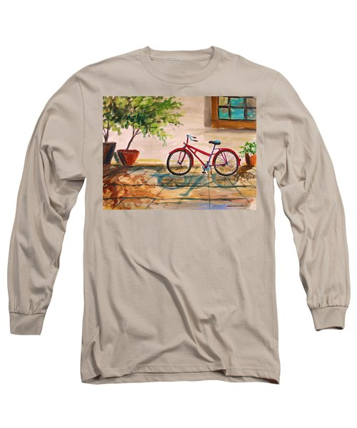 Parked In The Courtyard Long Sleeve T-Shirt