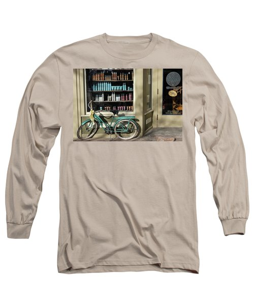 Parked Outside Long Sleeve T-Shirt by Monte Stevens
