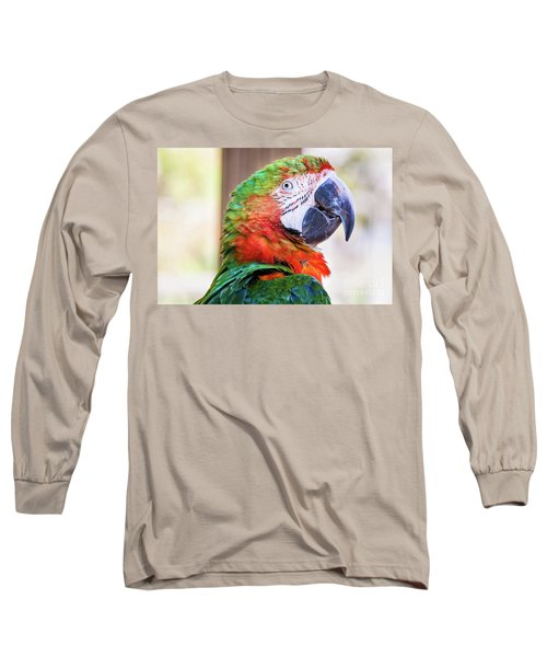 Parrot Long Sleeve T-Shirt by Stephanie Hayes