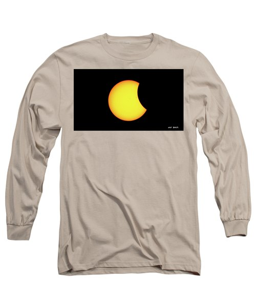 Partial Eclipse 1 Long Sleeve T-Shirt