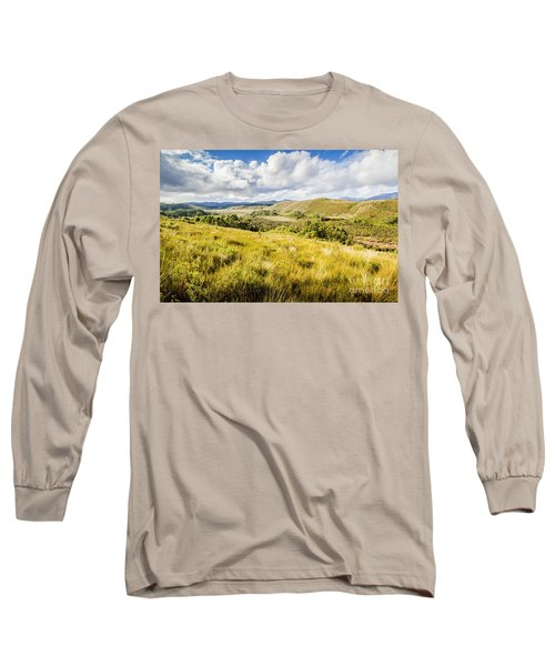 Parting Creek Regional Reserve Tasmania Long Sleeve T-Shirt