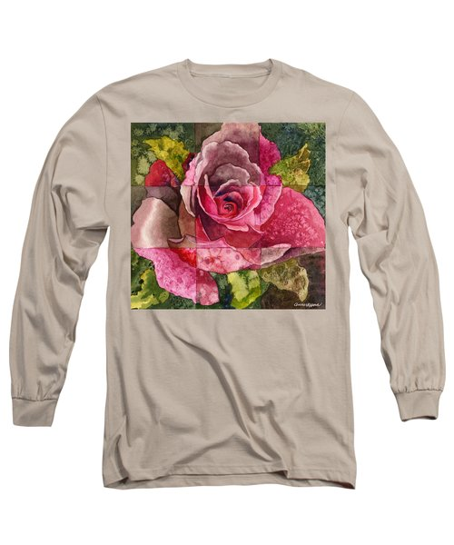 Partitioned Rose IIi Long Sleeve T-Shirt