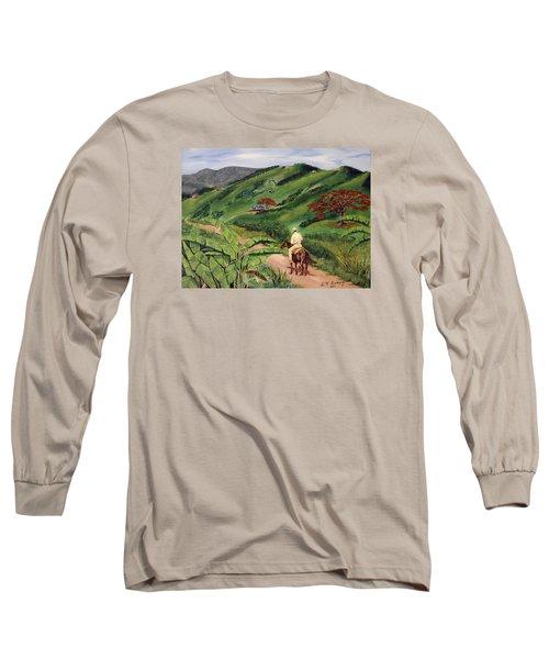 Paseo Por El Campo Long Sleeve T-Shirt