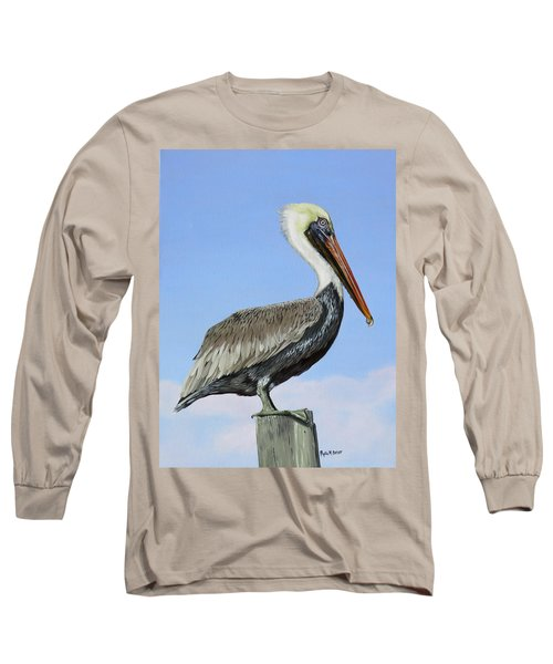 Pass Christian Sentinel Long Sleeve T-Shirt by Phyllis Beiser
