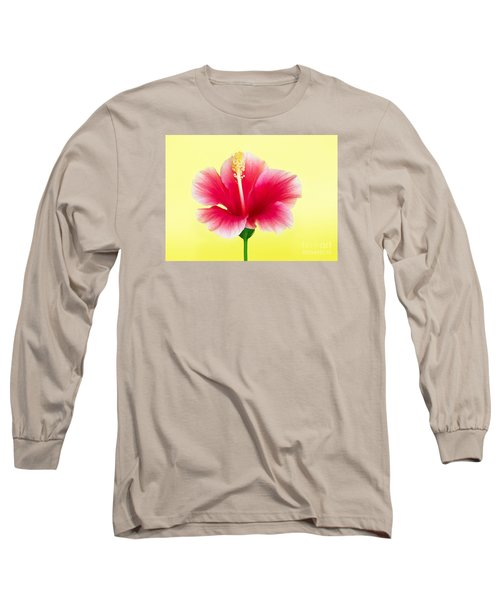 Passion Hibiscus Long Sleeve T-Shirt