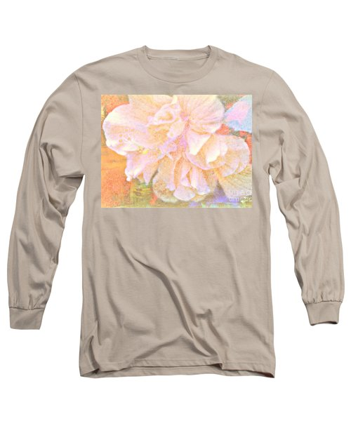 Pastel Hibiscus Long Sleeve T-Shirt