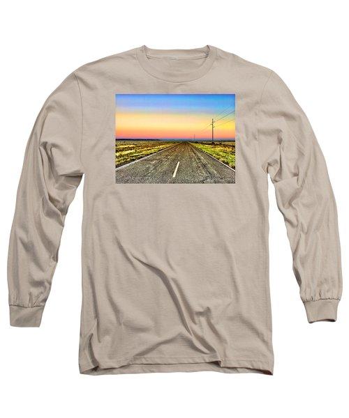 Pastel Morning Long Sleeve T-Shirt