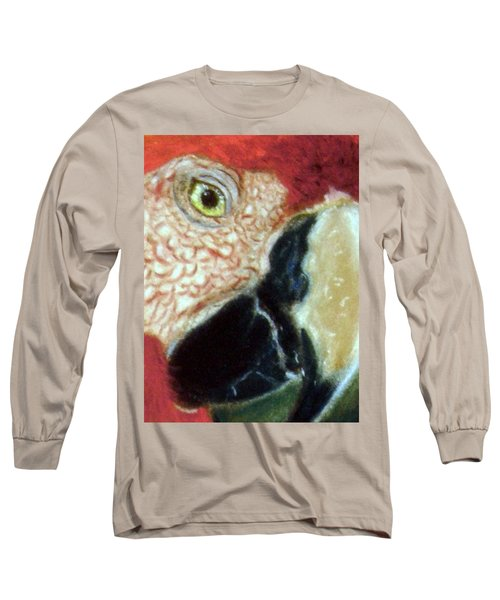 Pastel Of Red On The Head  Long Sleeve T-Shirt