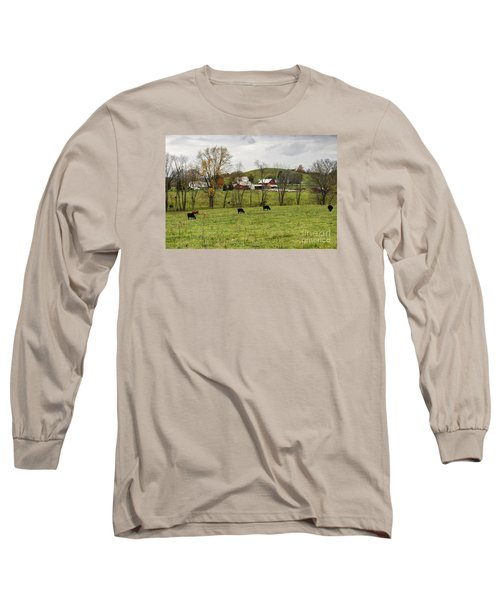Long Sleeve T-Shirt featuring the photograph Pastoral by Larry Ricker