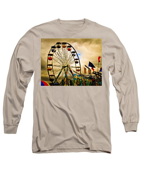 Patch Of Blue Long Sleeve T-Shirt
