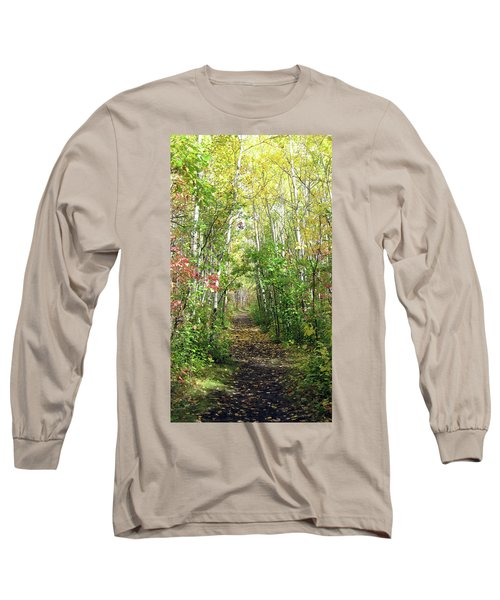 Path In The Woods 3 Long Sleeve T-Shirt
