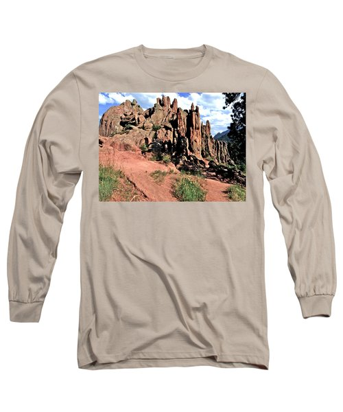 Path To Red Rocks Long Sleeve T-Shirt