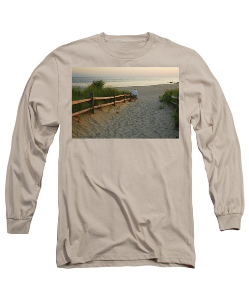 Path To The Sea Long Sleeve T-Shirt