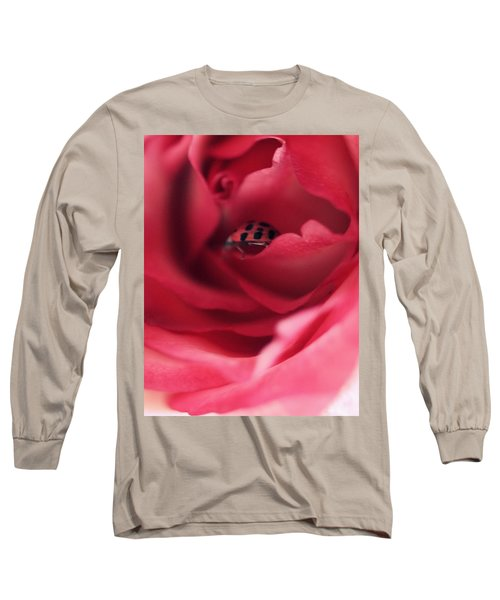 Patient Lady Long Sleeve T-Shirt by The Art Of Marilyn Ridoutt-Greene