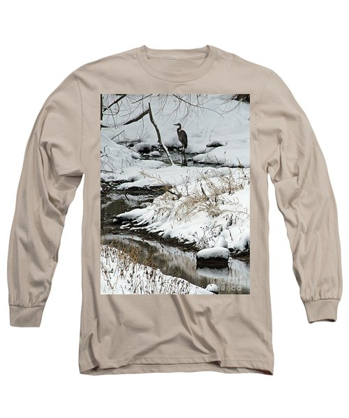 Long Sleeve T-Shirt featuring the photograph Patiently Waiting 1 by Paula Guttilla