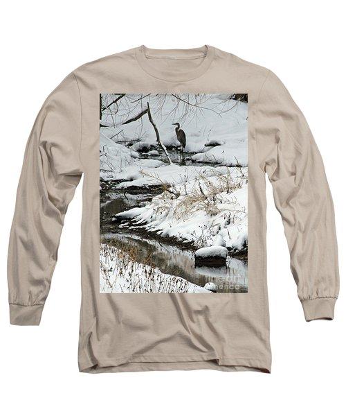 Patiently Waiting 1 Long Sleeve T-Shirt by Paula Guttilla