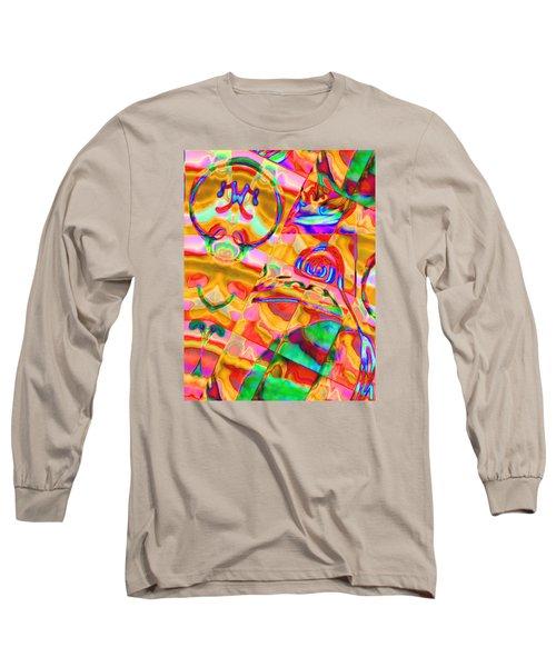 Pattern 316 _ Free Form Long Sleeve T-Shirt