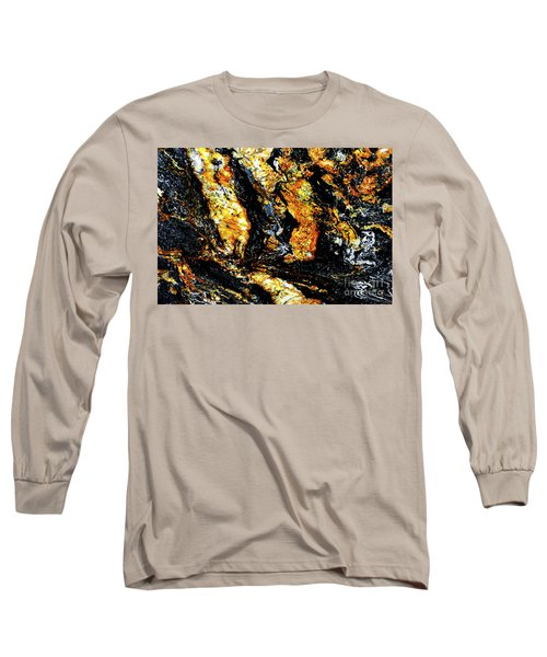 Long Sleeve T-Shirt featuring the photograph Patterns In Stone - 185 by Paul W Faust - Impressions of Light