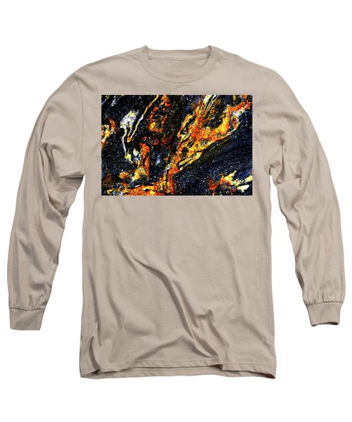 Long Sleeve T-Shirt featuring the photograph Patterns In Stone - 187 by Paul W Faust - Impressions of Light