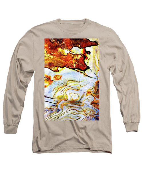 Long Sleeve T-Shirt featuring the photograph Patterns In Stone - 201 by Paul W Faust - Impressions of Light