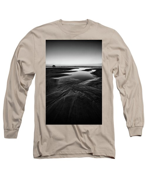 Long Sleeve T-Shirt featuring the photograph Patterns In The Sand by Jon Glaser