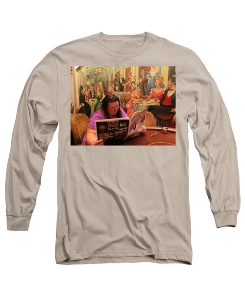 Pattie Poker Long Sleeve T-Shirt