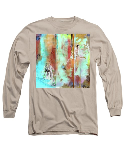 Pause In The Reconstruction Of Doubt  Long Sleeve T-Shirt