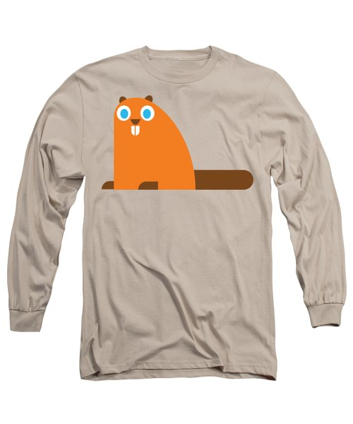 Pbs Kids Beaver Long Sleeve T-Shirt by Pbs Kids