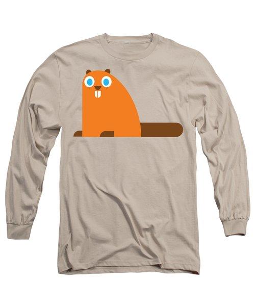 Pbs Kids Beaver Long Sleeve T-Shirt