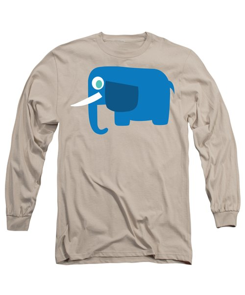 Pbs Kids Elephant Long Sleeve T-Shirt
