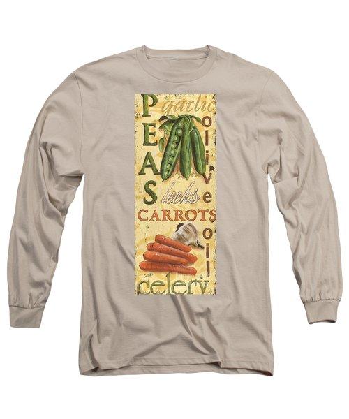 Pea Soup Long Sleeve T-Shirt by Debbie DeWitt