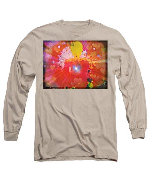 Peace And Love Meditation Long Sleeve T-Shirt