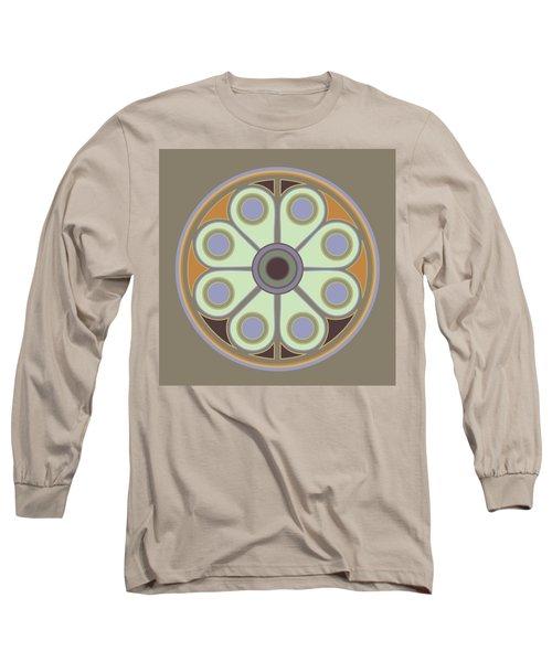 Peace Flower Circle Long Sleeve T-Shirt