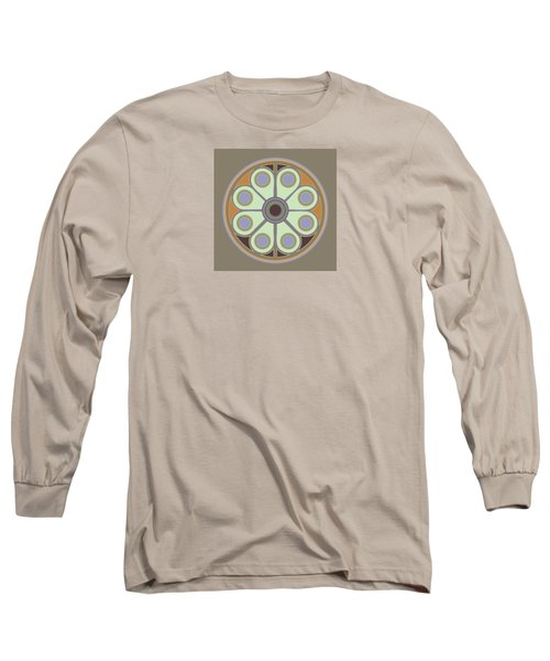 Peace Flower Circle Long Sleeve T-Shirt