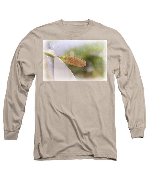 Peace Lily Long Sleeve T-Shirt