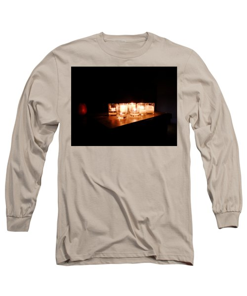 Peace On A Stormy Night Long Sleeve T-Shirt