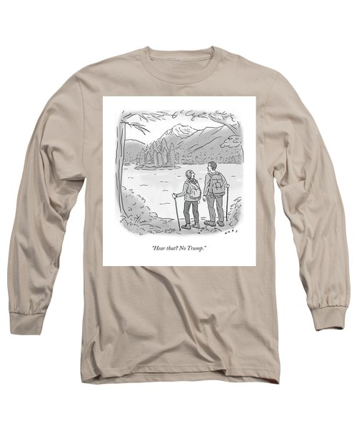 Peaceful Hikers Long Sleeve T-Shirt