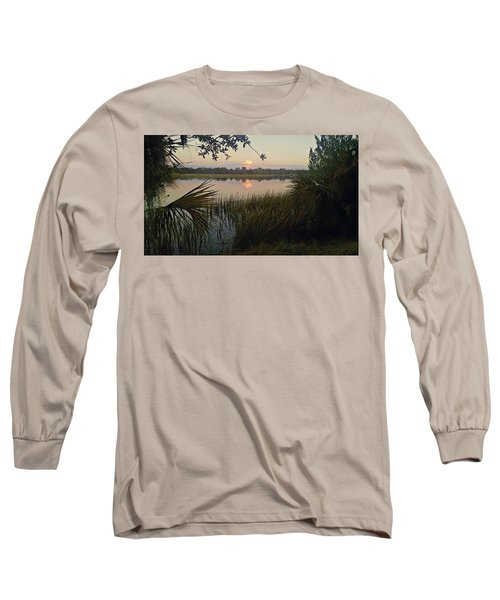 Peaceful Palmettos Long Sleeve T-Shirt