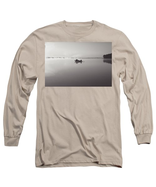 Peacefull Fishing Long Sleeve T-Shirt