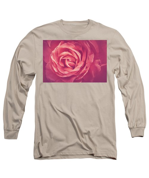 Blooms And Petals Long Sleeve T-Shirt