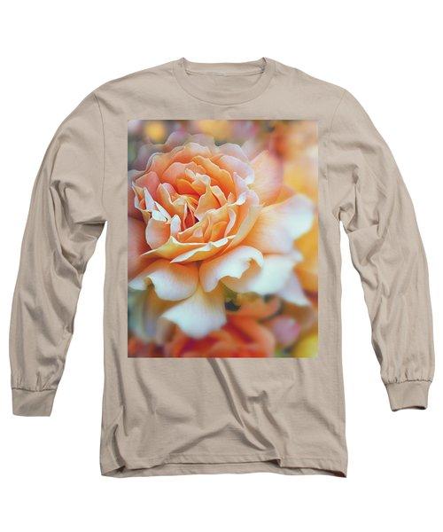 Peach Delight Long Sleeve T-Shirt